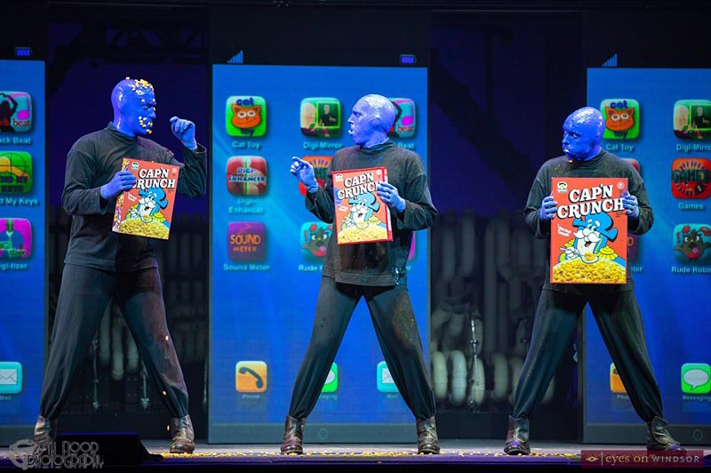 Blue Man Group Breakfast Symphony
