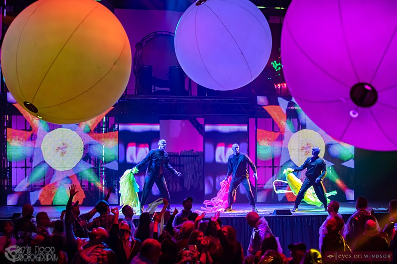 Blue Man Group Finale Party