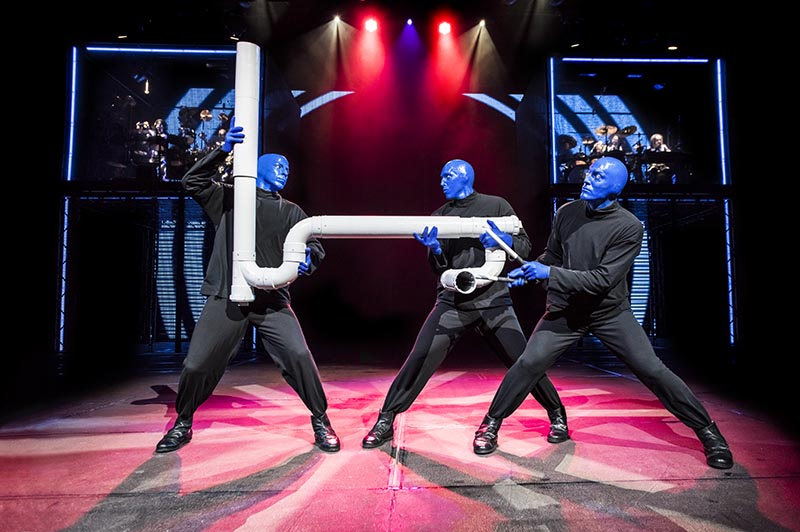 Blue Man Group Pipe Drumming