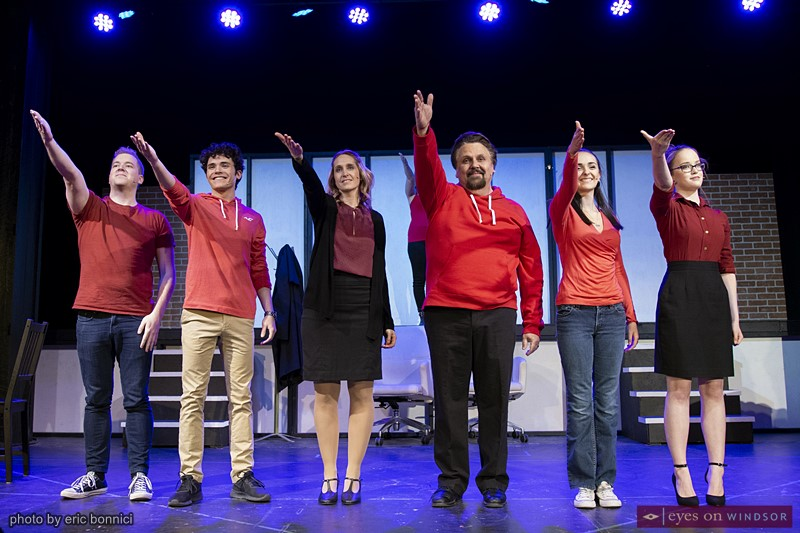The cast of Next To Normal by Cardinal Music Productions