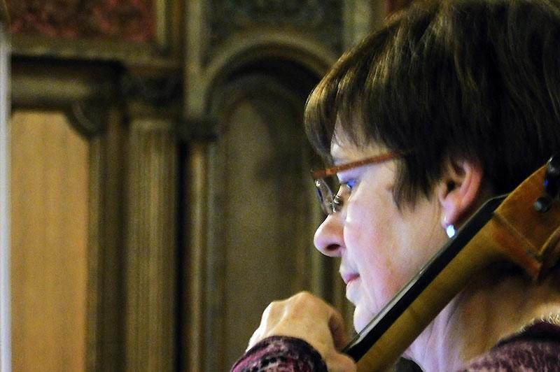Cellist Nadine Deleury