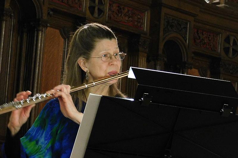Flutist Laura Larson
