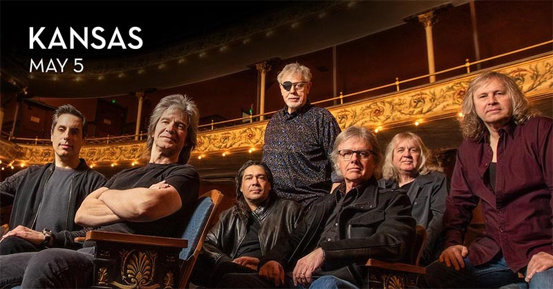 Kansas, The Iconic Classic Rock Band, to perform live at Caesars Winsor