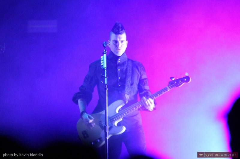 Marianas Trench bassist Mike Ayley