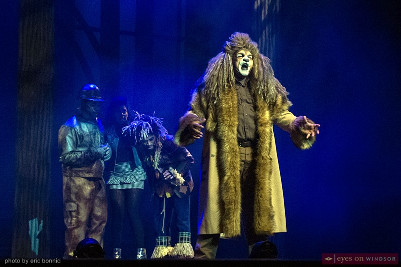 The Cowardly Lion (Michael Rice) ACT Windsor The Wiz
