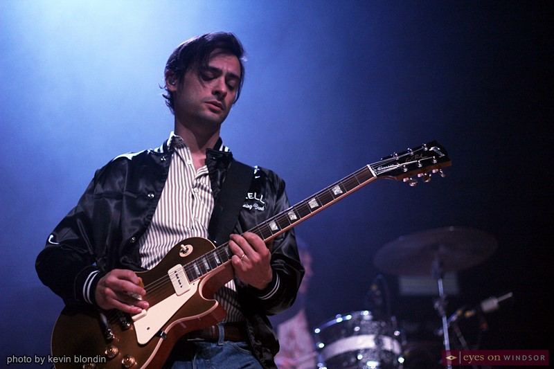 Mike DeAngelis of the Arkells