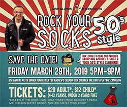 Rock Your Socks with Andrew Banner of Group Hug