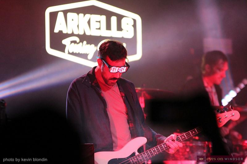 Nick Dika, bassist of the Arkells