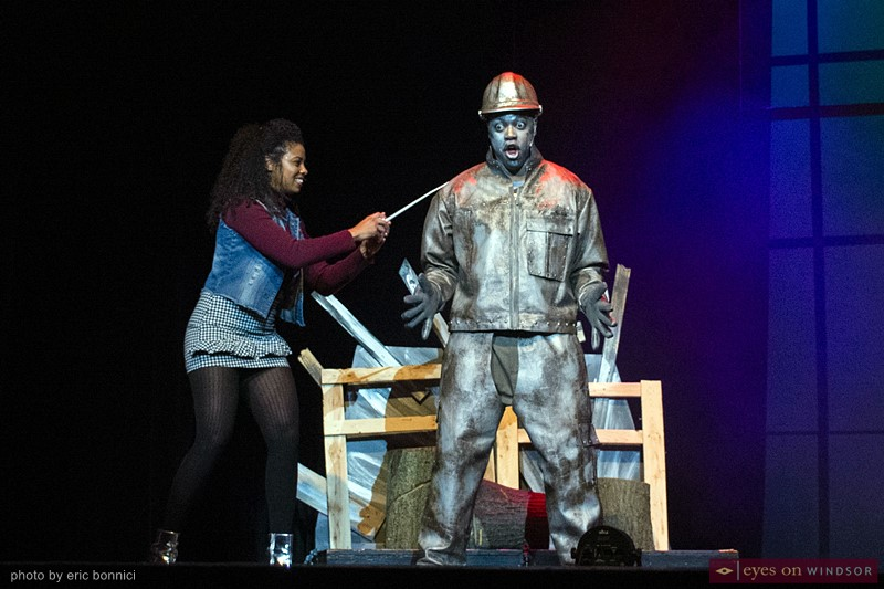 Tin Man The Wiz Act Windsor Joshua S Davis