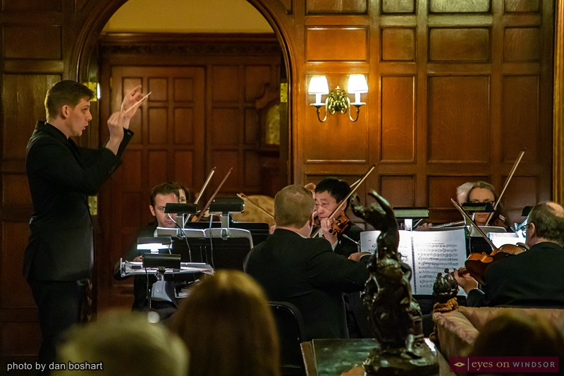 Daniel Wiley and the Windsor Symphony Orchestra
