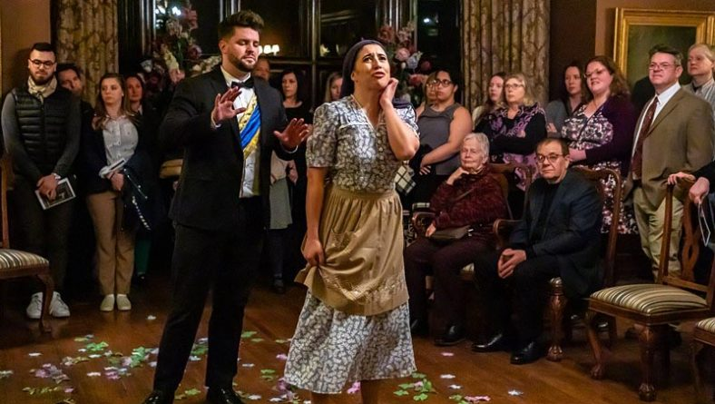 Abridged Opera Intimately Brings Cinderella To Life at Willistead Manor