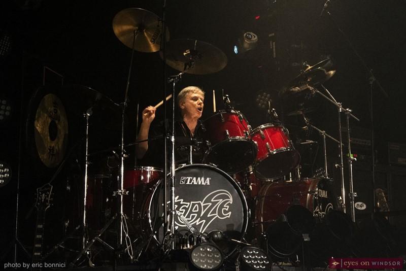 Teaze drummer Michael Kozac