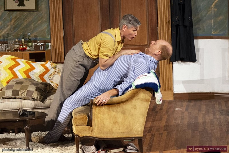 Greg Girty as Mr. Lawrence and Clinton Hammond as Owen