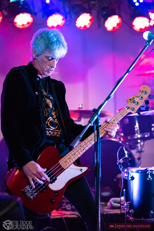 Guitar Army bassist Mike Fortier