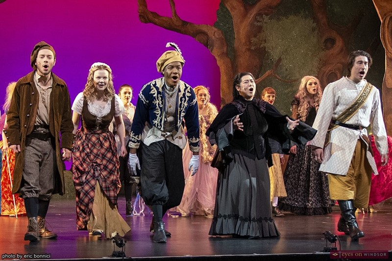 St. Clair College Students performing Into The Woods