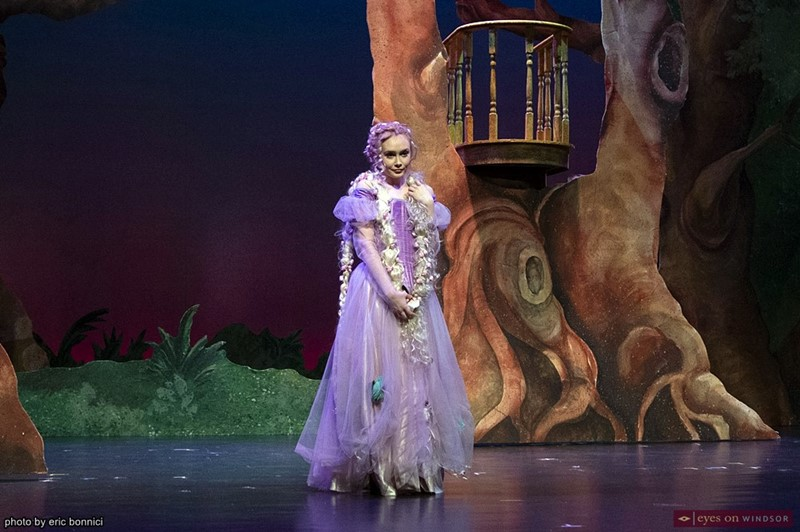 Faith Farnham as Rapunzel