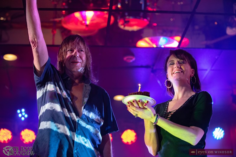 Pat Travers and Stacey Donnelly