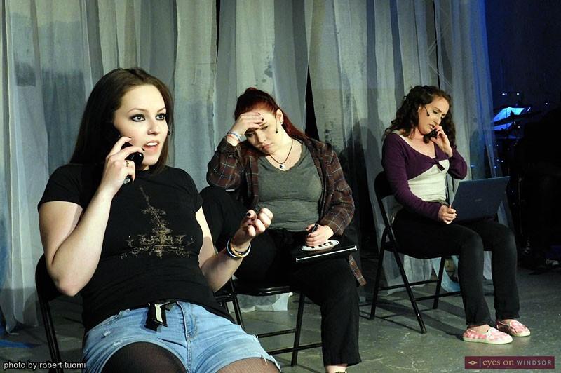 Melissa MacKenzie, Samantha Bourque, and Katie Miller
