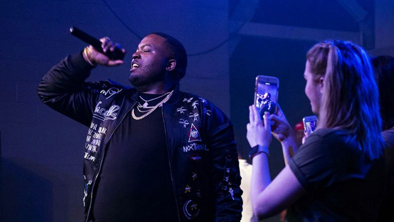 Multi-Platinum Rapper Sean Kingston Gets St. Clair College's Fire Burning