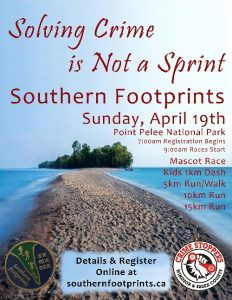Southern Footprints Run / Walk Poster