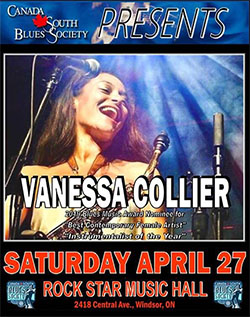 Vanessa Collier Live in Windsor