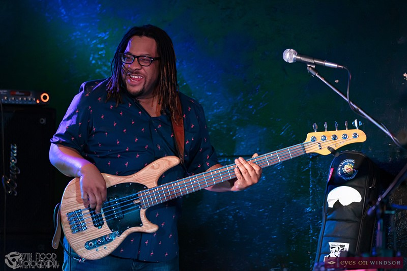 "Bassist Terrence ""Sweet Tea"" Grayson"