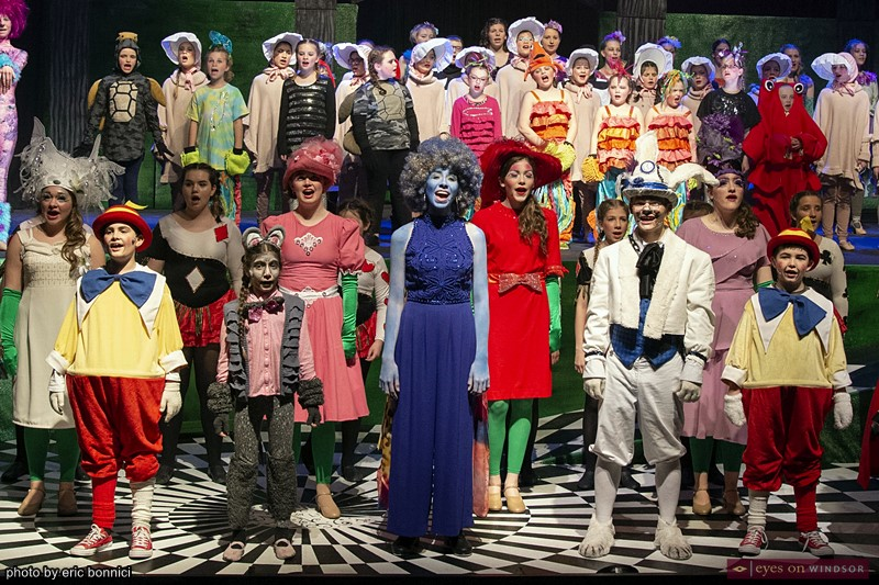 Little Tomato Children's Theatre Company Alice in Wonderland Jr. Cast Singing