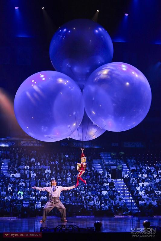 Corteo Cirque du Soleil Helium Dance Act