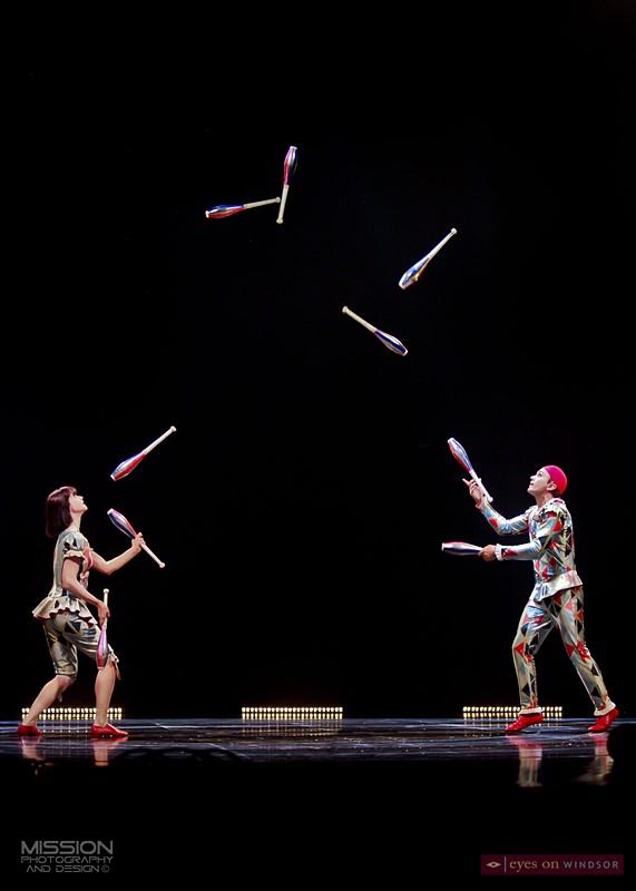 Corteo Cirque du Soleil Jugglers