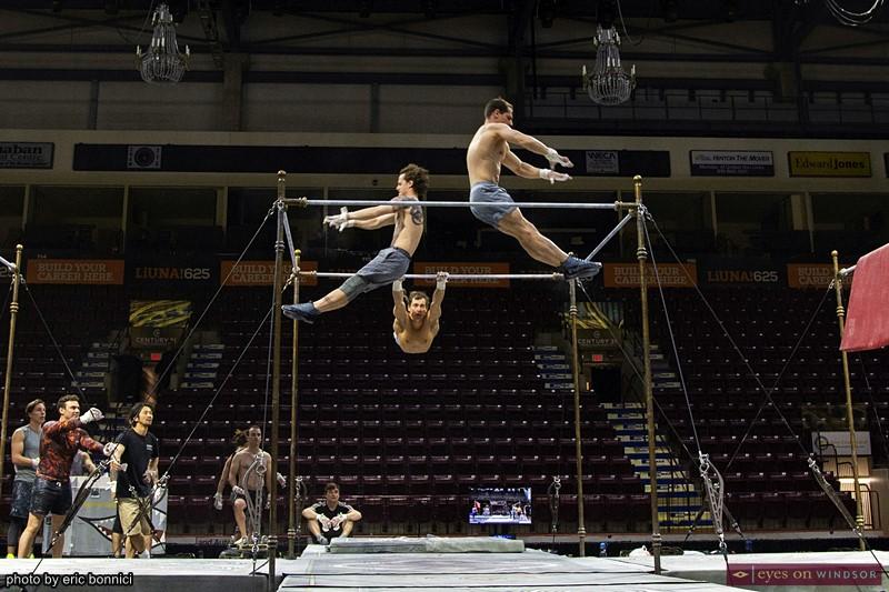 Corteo by Cirque du Soleil acrobats