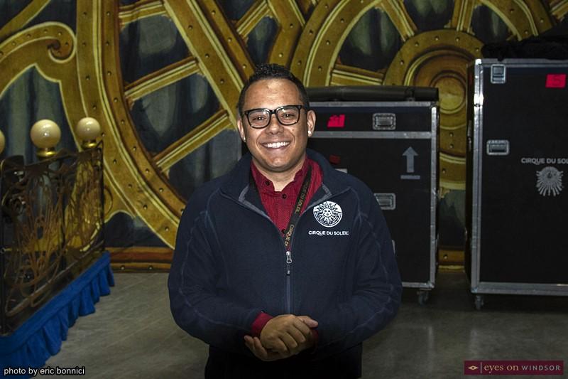 Maxwell Batista, Senior Publicist at Cirque du Soleil