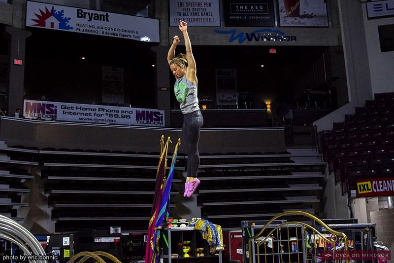 Corteo by Cirque du Soleil acrobat