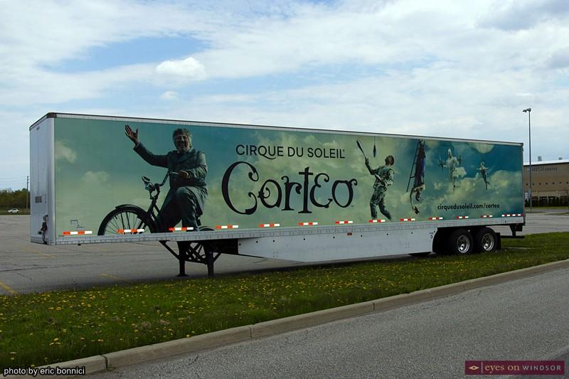 Corteo semi-truck trailer