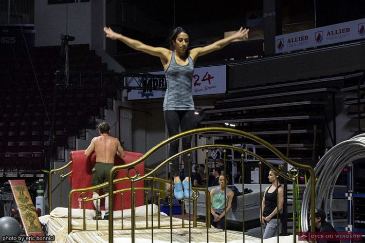 Behind The Scenes: Corteo by Cirque du Soleil at The WFCU Centre