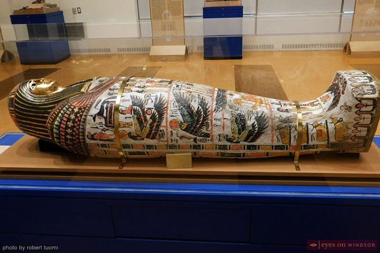 Wonderful World of Ancient Egypt Exhibit Ends Sunday at Chimczuk Museum