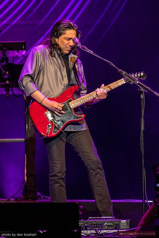 Kansas guitarist Zak Rizvi