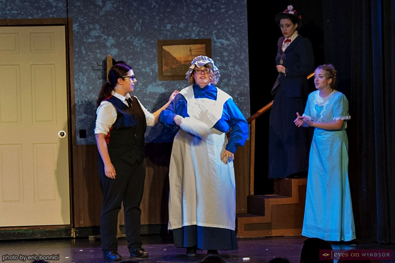 Katie Hales as Miss Brill in Riverfront Theatre Company's production of Mary Poppins