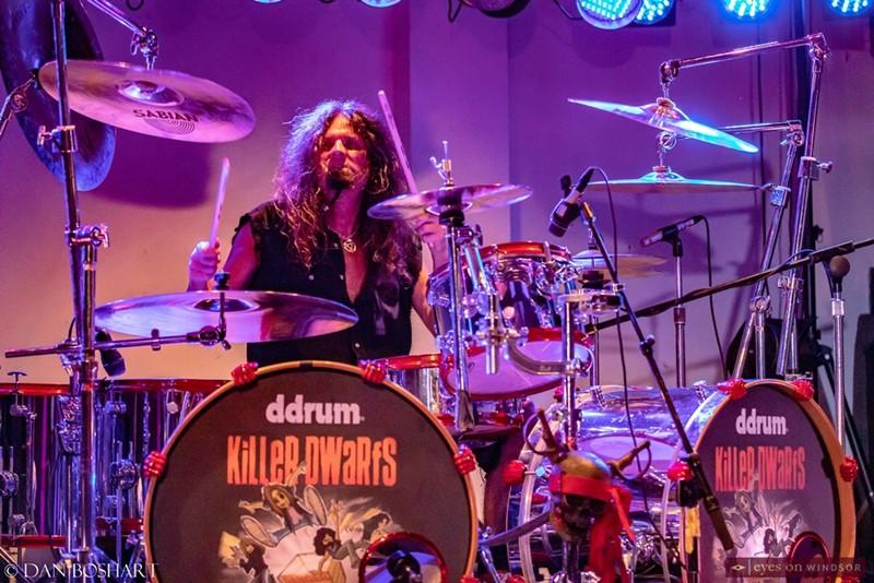 Drummer Darrell Millar