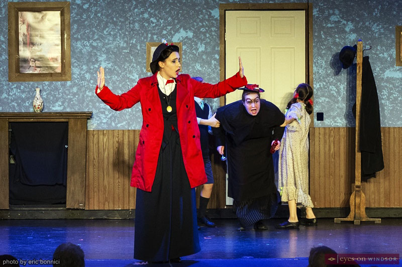 Meredith Garswood as Mary Poppins