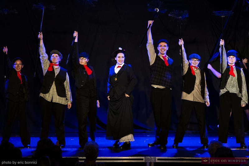 Chimney Sweepers Dancing With Mary Poppins