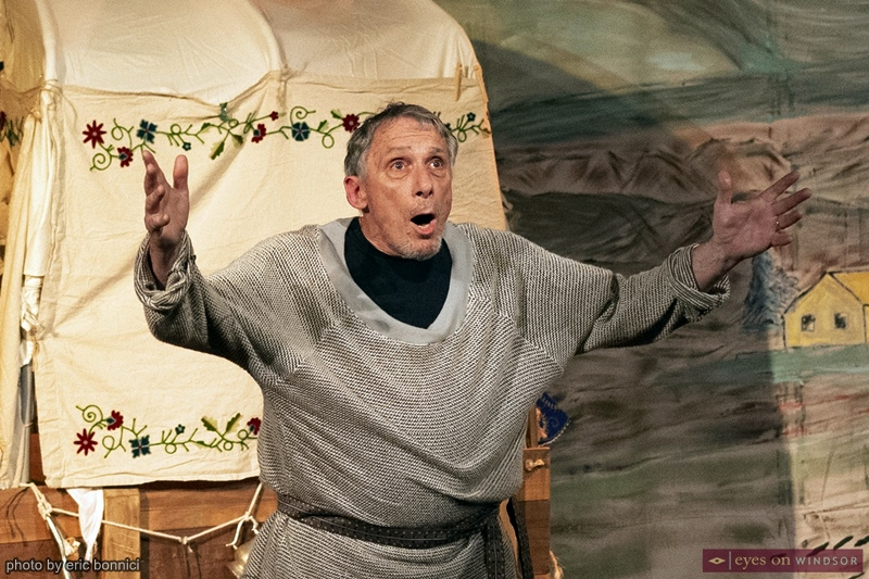 Bob Godden cast as the Chaplain