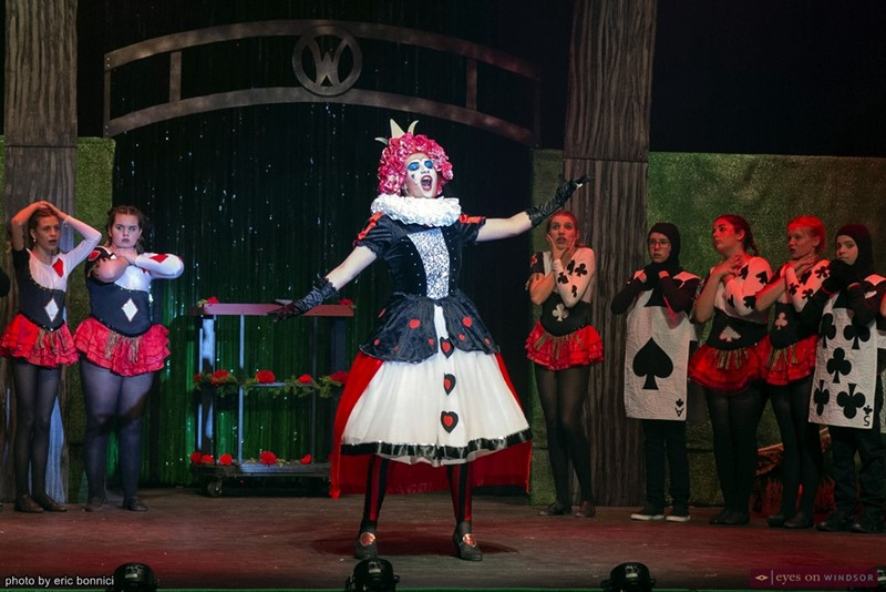Olivia Todd Tracey as The Queen of Hearts