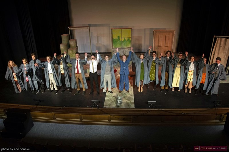 Walkerville Centre For The Creative Arts' production of Rhinoceros Cast Takes a Final Bow