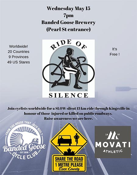 Ride of Silence Kingsville Poster