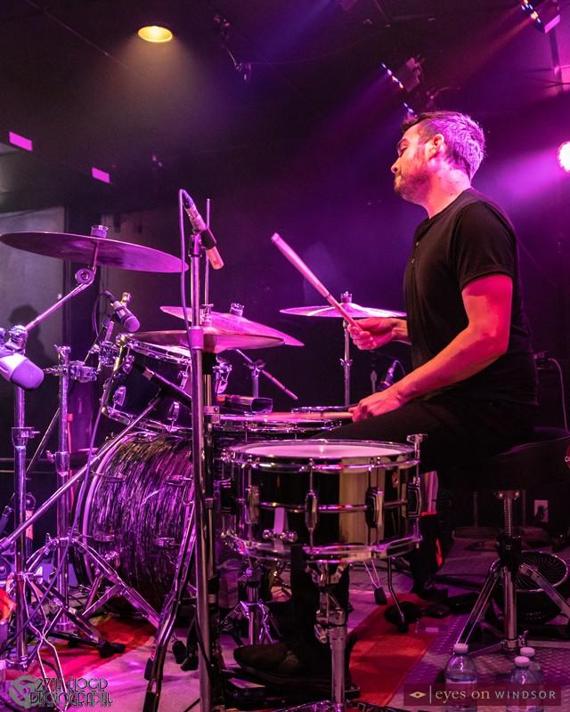 Drummer Nick Stevens