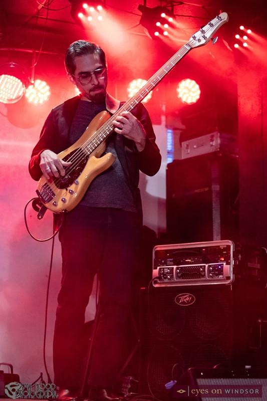 Bassist Gaby Vivas