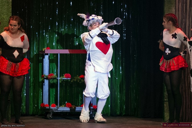 Jude Mercer as The White Rabbit