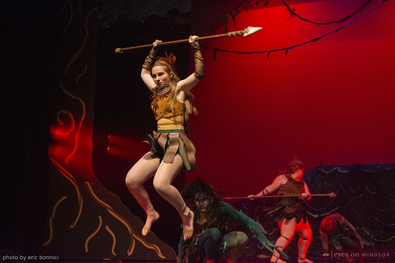 Windsor Dance eXperience Journey Into The Amazon Spear Fighting Scene