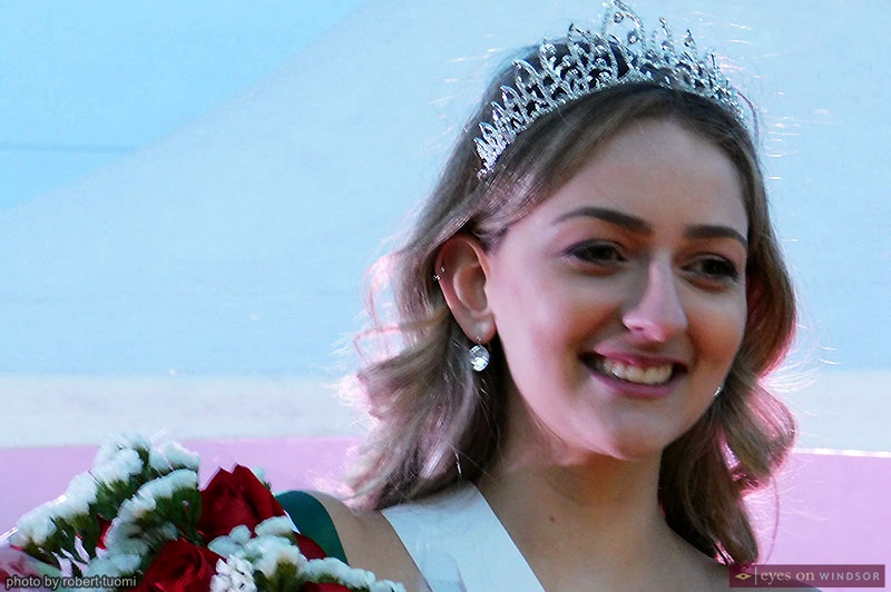 Stephanie Kirst crowned Miss Via Italia during the Carrousel of the Nations Via Italia village