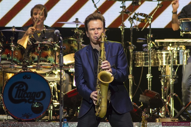 Chicago band member Ray Herrmann (saxophone)
